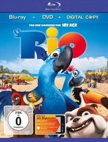 Rio (+ DVD & Digital Copy) [Blu-ray]