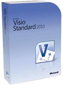 Microsoft Visio Standard 2010 - 1PC/1User