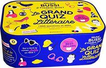 Michel Bussi et Frederique Bizet Presentent : le Grand Quiz Litteraire - 1000 Questions et Défis Pou