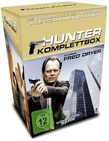 Hunter - Gnadenlose Jagd - Die Komplettbox mit allen 153 Folgen auf 42 DVDs (Cigarette Box mit Episodenguide und Sammelkarten, Limited Edition)