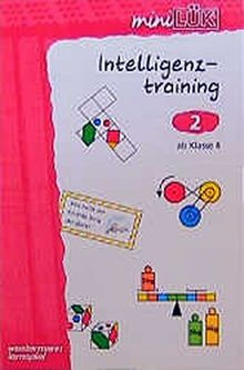 miniLÜK Intelligenztraining: mini LÜK, Übungshefte, Intelligenztraining 2, ab Klasse 4