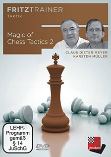 Magic of Chess Tactics 2: fritztrainer: interaktives Video-Schachtraining