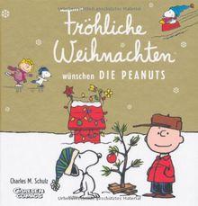 Fröhliche Weihnachten wünschen die Peanuts