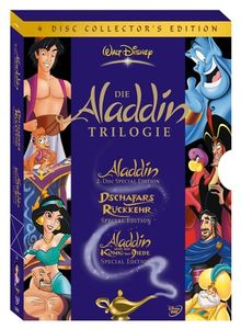 Die Aladdin Trilogie [Collector's Edition] [4 DVDs]