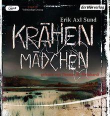 """Krähenmädchen: Band 1 der """"Victoria-Bergman-Trilogie"""" - Psychothriller"""