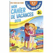 Mon cahier de vacances du CE2 au CM1