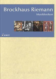 Brockhaus Riemann - Musiklexikon (PC+MAC)