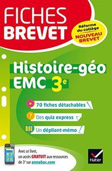 Histoire géographie, Enseignement moral et civique 3e
