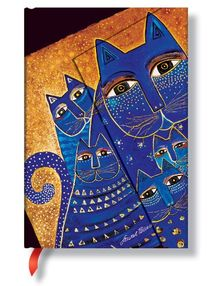 Smythe Sewn Fantastic Felines Mediterranean Cats Lined Mini (Paperblanks: Fantastic Felines)