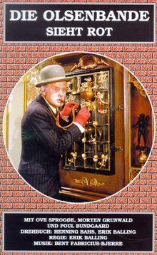 Die Olsenbande 8 ...sieht rot [VHS]
