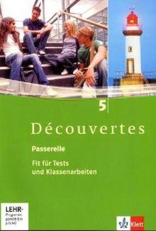 Découvertes 5. Fit für Tests und Klassenarbeiten. Arbeitsheft mit Lösungen und CD-ROM: Arbeitsheft. Mit Lösungen auf der CD-ROM - Band 5: BD 5