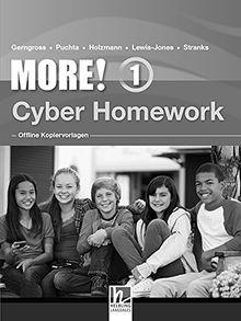 MORE! 1 Cyber Homework - Offline Kopiervorlagen NEU