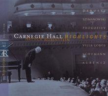 Carnegie Hall Highlights - Rubinstein Collection, Vol. 42
