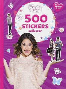 Violetta, 500 stickers collector
