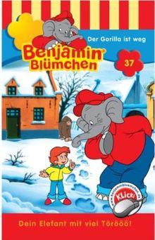 Benjamin Blümchen - Folge 37: Der Gorilla ist weg [Musikkassette]