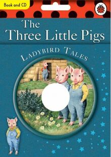 The Three Little Pigs Book and CD: Ladybird Tales