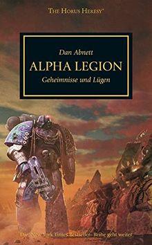 Horus Heresy - Alpha Legion: Geheimnisse und Lügen