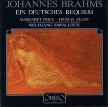 Brahms - Ein deutsches Requiem / Price · Allen · SBR · Sawallisch