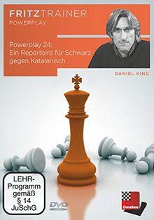 Daniel King: Powerplay 24 - Ein Repertoire für Schwarz gegen Katalanisch