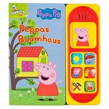 Peppa Pig - Peppas Baumhaus - Pappbilderbuch mit 7 lustigen Geräuschen für Kinder ab 3 Jahren