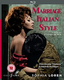 Marriage Italian Style Blu Ray (Region ALL) [Blu-ray] [UK Import]