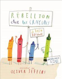 Rebellion chez les crayons