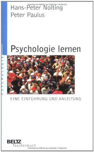 Psychologie Lernen Eine Einführung Und Anleitung