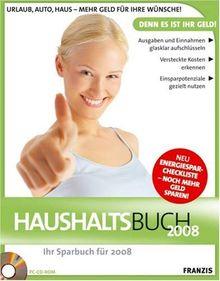 Haushaltsbuch 2008