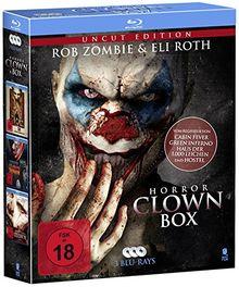 Horror Clown Box (3-Disc Set) (UNCUT) [Blu-ray]