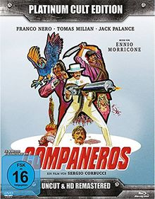 Companeros - Platinum Cult Edition (Blu-Ray + 2 DVDs + Audio-CD) limitierte Auflage 1000 Stück !! [Limited Edition]