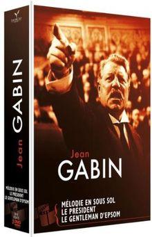 Gabin ; le gentleman d'epsom ; le president ; melodie en sous-sol [FR Import]