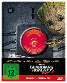 Guardians of the Galaxy Vol. 2 - 2D & 3D Steelbook Edition [3D Blu-ray] [Limited Edition]