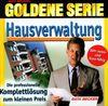 Goldene Serie. Hausverwaltung. CD- ROM für Windows 95/98. Die professionelle Komplettlösung zum kleinen Preis