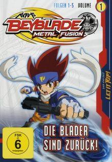 Beyblade Metal Fusion - Volume 1 (Folgen 1-5)