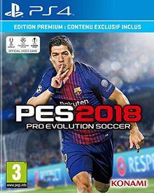 PES 2018 Premium D1 Edition (PS4) (Pré-commande - Sortie le 14 Septembre 2017) ( Catégorie : Jeu PlayStation 4 )