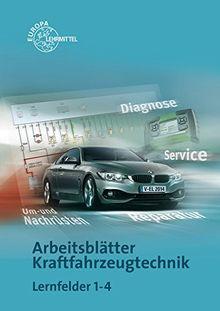 Arbeitsblatter Kraftfahrzeugtechnik Lernfelder 1 4 Von Richard Fischer