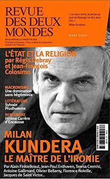 Revue des Deux Mondes Mars 2020: Milan Kundera
