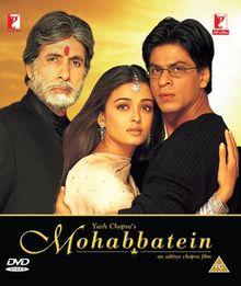 Mohabbatein. Bollywood Film mit Shahrukh Khan. [DVD][UK IMPORT]
