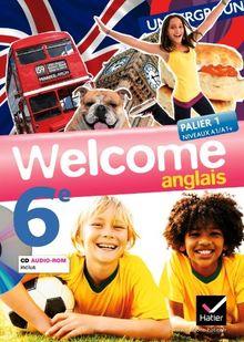 Anglais 6e Welcome (1CD audio)