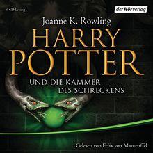 Harry Potter und die Kammer des Schreckens (Harry Potter, gelesen von Felix von Manteuffel, Band 2)