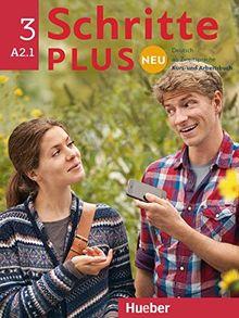 Schritte plus Neu 3 / Schritte plus Neu 3: Deutsch als Zweitsprache für Alltag und Beruf / Kursbuch+Arbeitsbuch+CD zum Arbeitsbuch (SCHRPLUNEU)