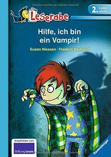 Leserabe - 2. Lesestufe: Hilfe, ich bin ein Vampir!
