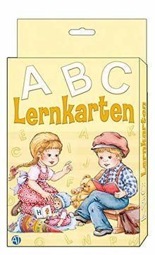 Lernkarten ABC: 6 x 10 cm, 27 Karten