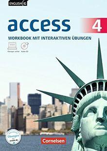 English G Access - Allgemeine Ausgabe: Band 4: 8. Schuljahr - Workbook mit CD-ROM und Audio-CD: Mit interaktiven Übungen