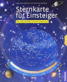 Sternkarte für Einsteiger: Die Sternbilder sicher erkennen: Einfach drehen, sicher erkennen