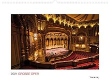 Große Oper 2021: Wandkalender (MONUMENTAL / KUNTH-Wandkalender Grau)