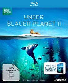 """UNSER BLAUER PLANET II - Die komplette ungeschnittene Serie zur ARD-Reihe """"Der blaue Planet"""" (amazon Exklusiv-Version mit Poster) [Blu-ray] [Limited Collector's Edition]"""