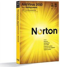 Norton antivirus 2010 (3 postes, 1 an)
