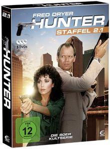 Hunter - Gnadenlose Jagd (Staffel 2.1 auf 3 DVDs im Digipack mit Schuber plus Episodenguide)