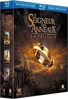 Coffret trilogie seigneur des anneaux : la communauté de l'anneau ; les deux tours ; le retour du roi [Blu-ray]